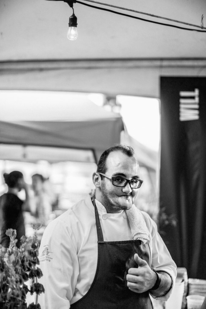 Chef Christopher Kearse photographed by Neal Santos for FEASTIVAL 2014